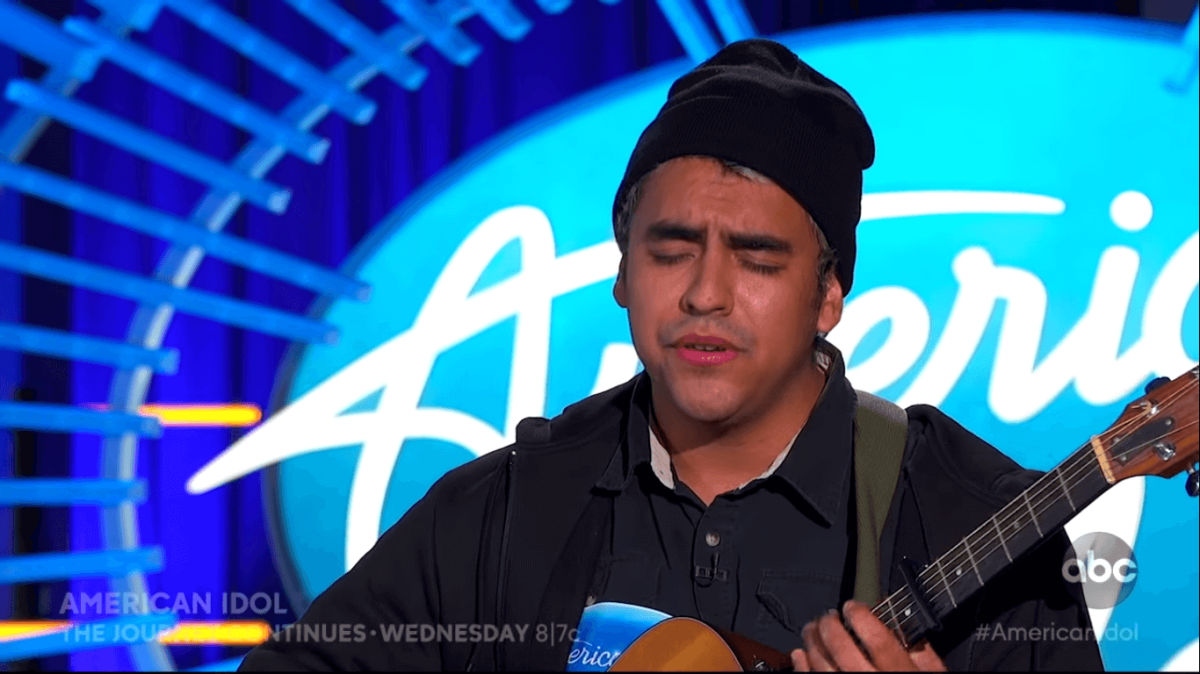 Alejandro Aranda American Idol audition